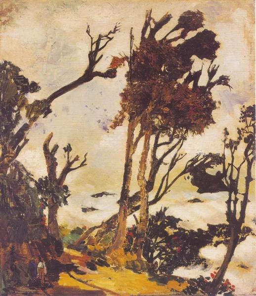 朱德群 《八仙写生》1953年 布面油画 72x60cm