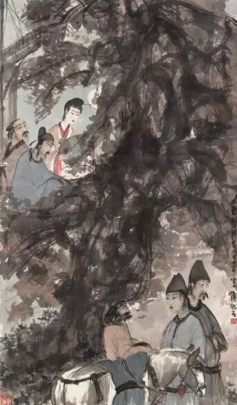 傅抱石   (1904-1965)